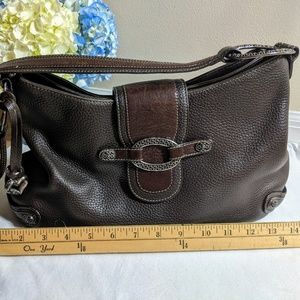 Brighton brown leather shoulder Purse